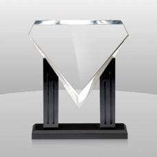 Diamond Acrylic with Black Base Award